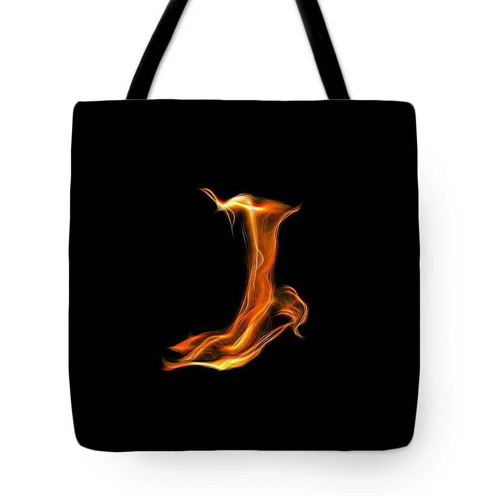Fire Tote Bag featuring the photograph Flare by Wes Jimerson