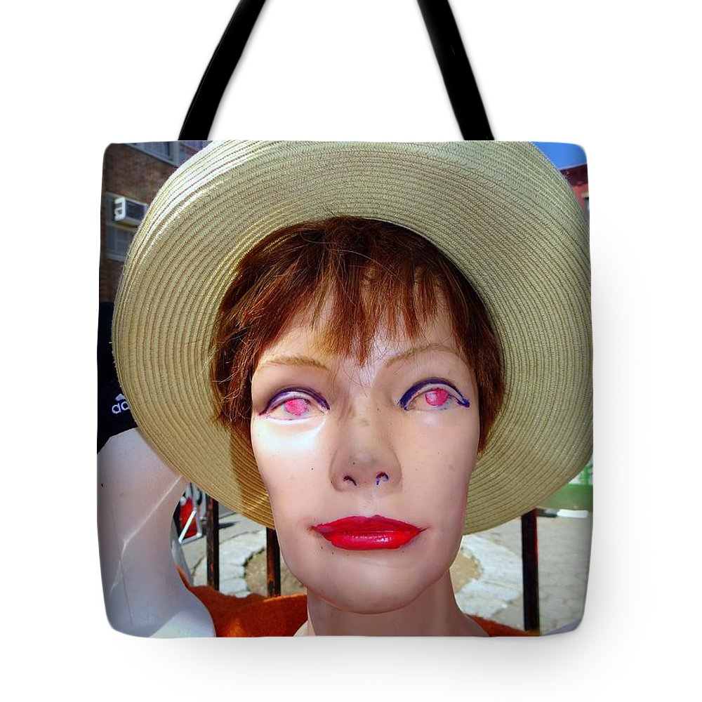 Mannequins Tote Bag featuring the photograph Flea Market Fabulous by Ed Weidman