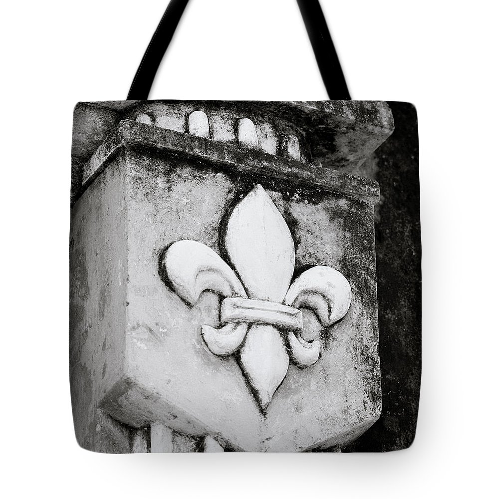 Fleur De Lys Tote Bag featuring the photograph Fleur De Lys by Shaun Higson