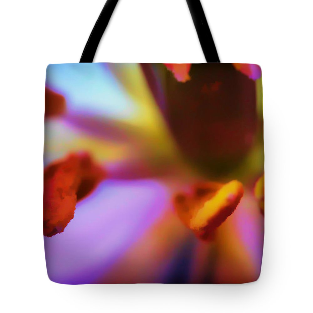 Flower Tote Bag featuring the photograph Fleur V by Tina Baxter