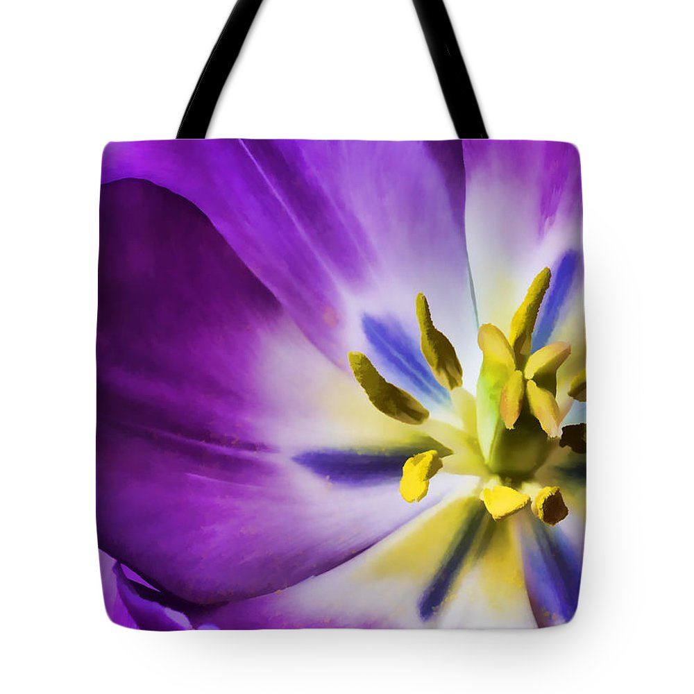 Flower Tote Bag featuring the photograph Fleur Viii by Tina Baxter