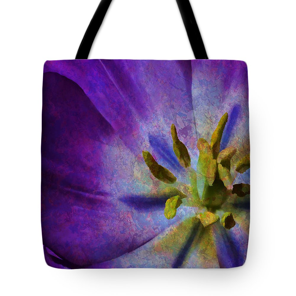 Flower Tote Bag featuring the photograph Fleur X by Tina Baxter