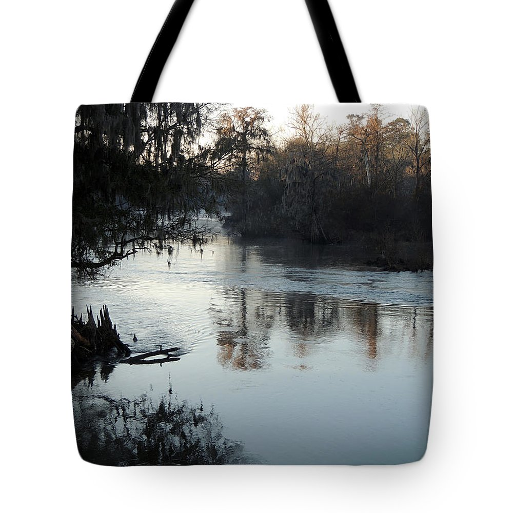 Digital Photography Tote Bag featuring the photograph Flint River 20 by Kim Pate