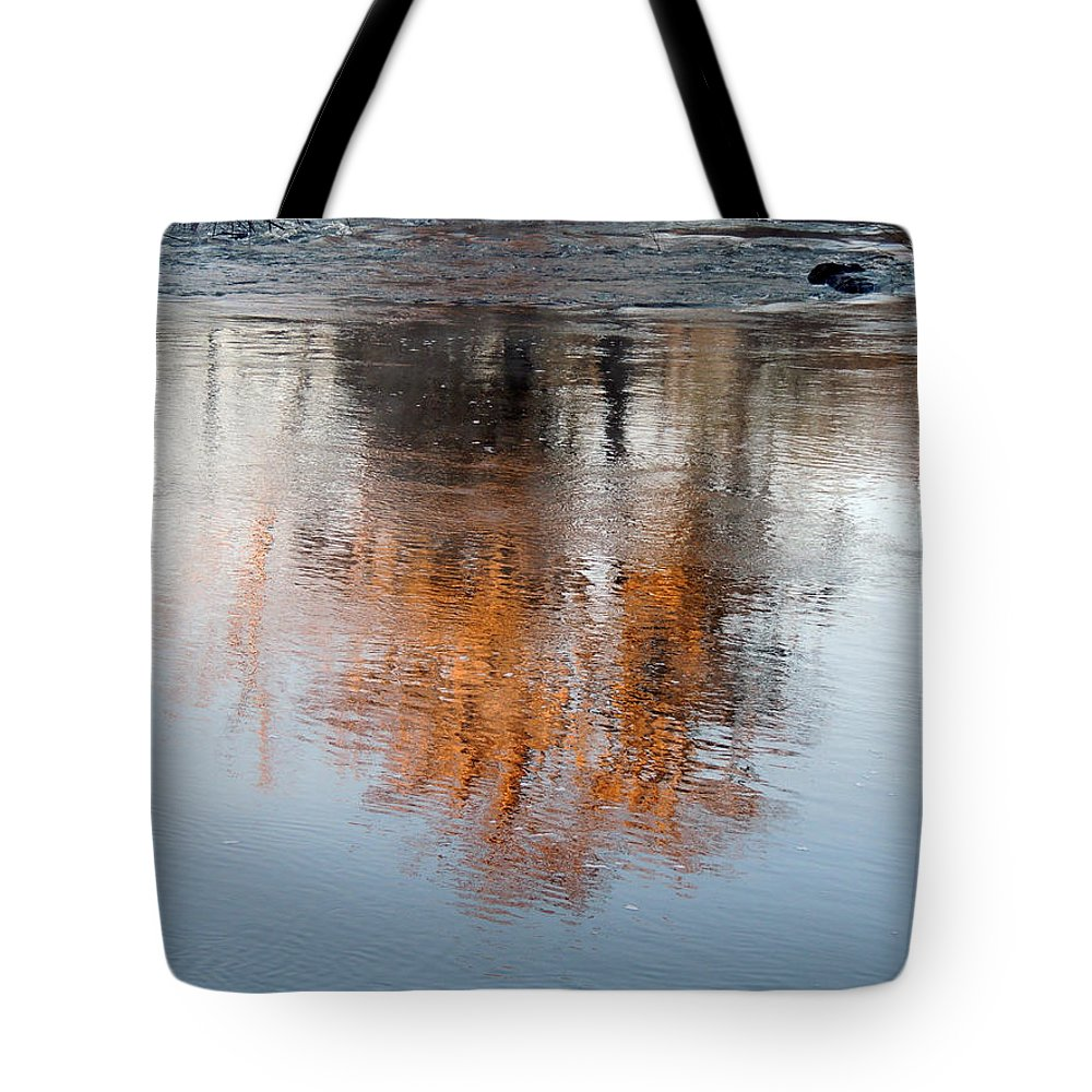 Digital Photography Tote Bag featuring the photograph Flint River 22 by Kim Pate