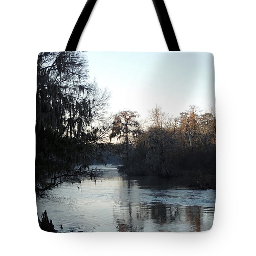 Digital Photography Tote Bag featuring the photograph Flint River 23 by Kim Pate