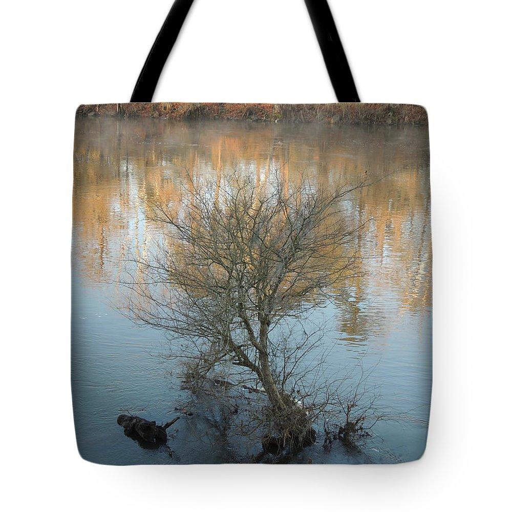 Digital Photography Tote Bag featuring the photograph Flint River 24 by Kim Pate