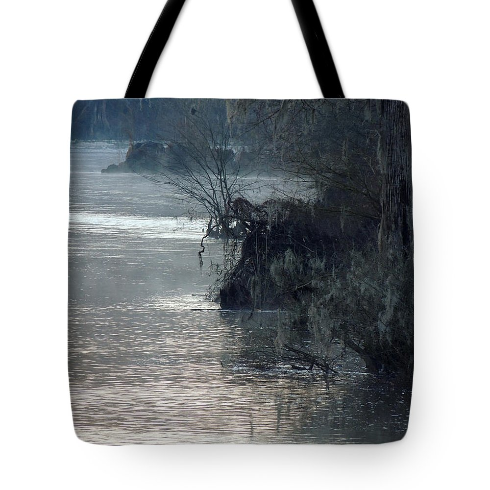 Digital Photography Tote Bag featuring the photograph Flint River 28 by Kim Pate