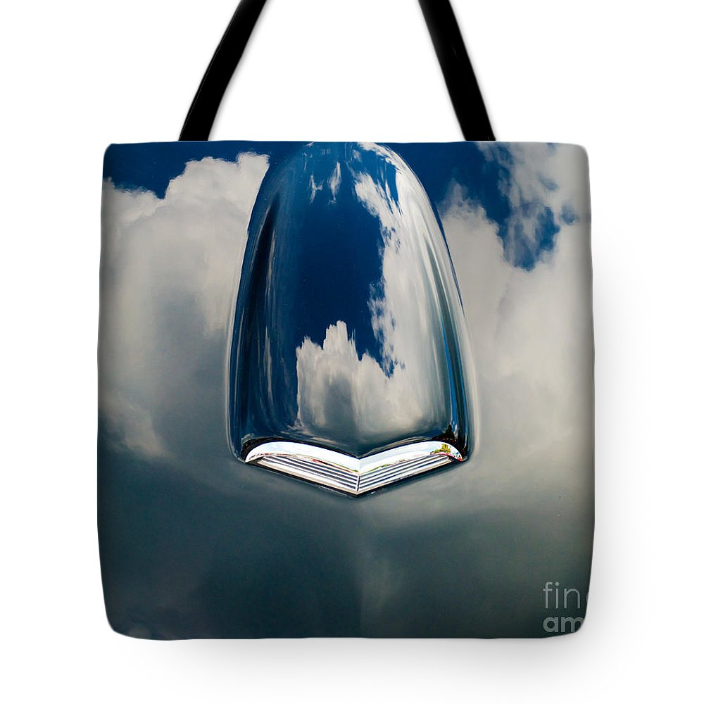 Car Tote Bag featuring the photograph Floating In The Sky by Mark Dodd