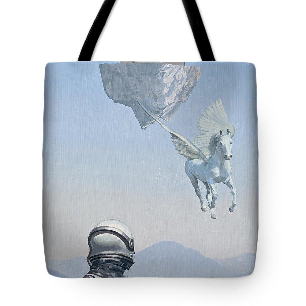 Pegasus Tote Bags
