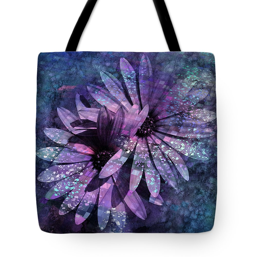 Flowers Tote Bag featuring the photograph Floral Fiesta - S14c by Variance Collections