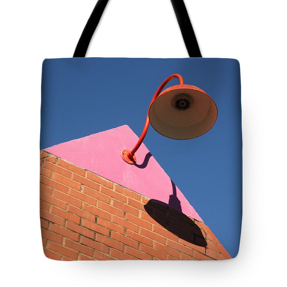 Ross Lewis Tote Bag featuring the photograph Shadow Of The Lantern by Ross Lewis