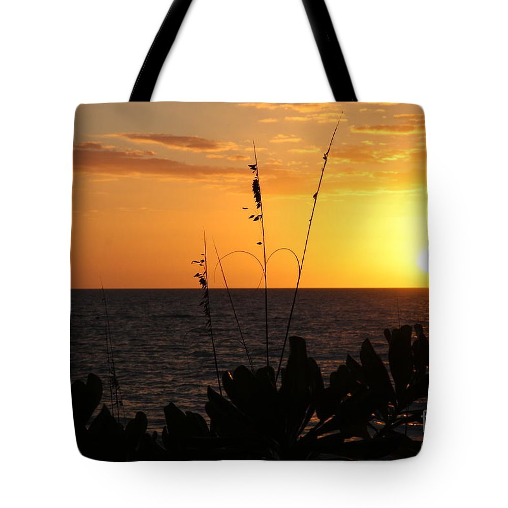 Sundown Tote Bag featuring the photograph Florida Delight by Christiane Schulze Art And Photography