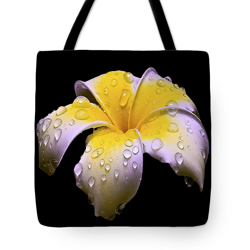 Flower Tote Bag featuring the photograph Flower 171 by Ingrid Smith-Johnsen