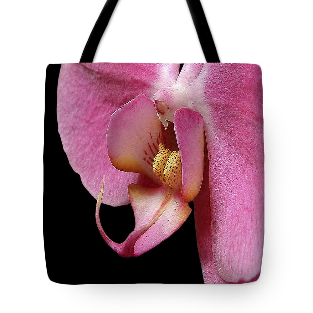 Flower Photographs Tote Bag featuring the photograph Flower 330 by Ingrid Smith-Johnsen
