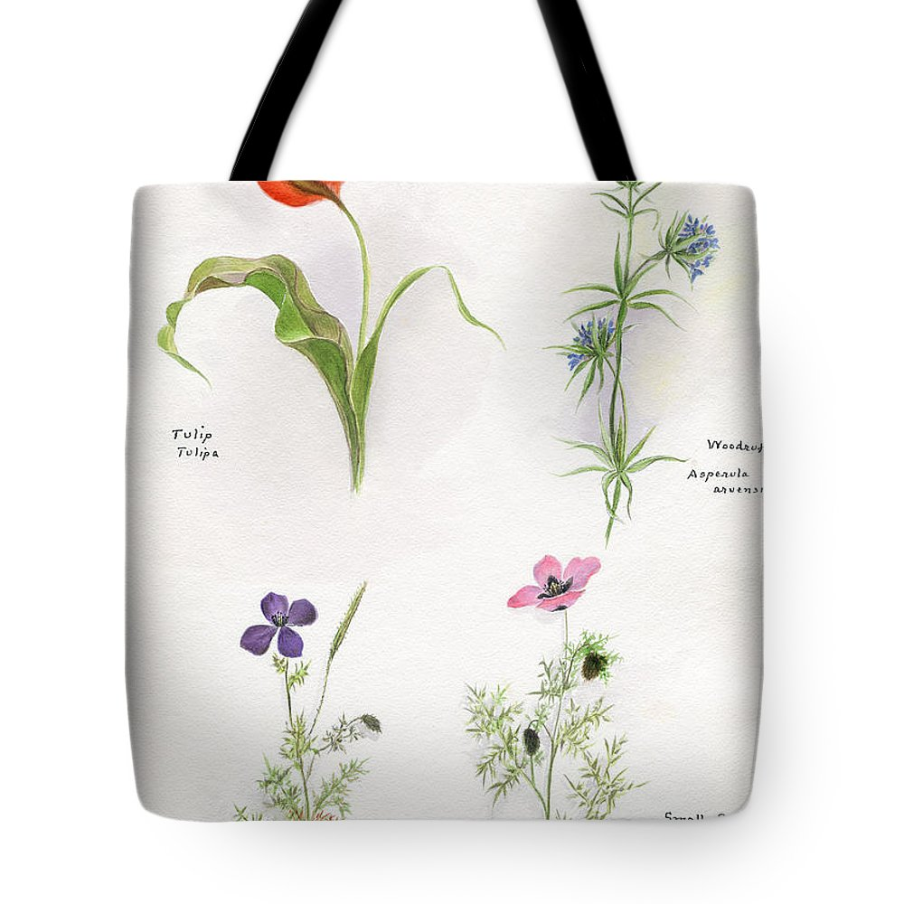 Flower Tote Bag featuring the photograph Flowers 1931 by Granger