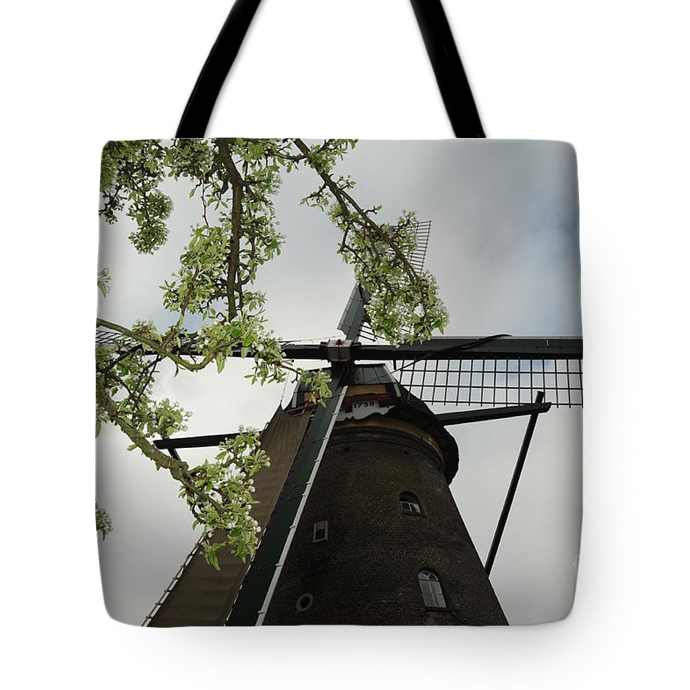 Photograph Tote Bag featuring the photograph Flowers And Wind by Richard Gehlbach