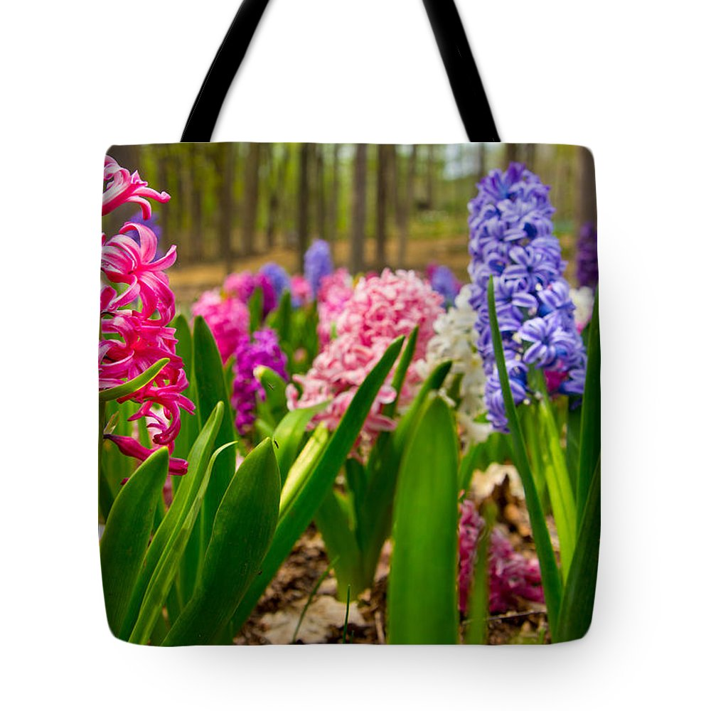 Michigan Tote Bag featuring the photograph Flowers In Michigan by John McGraw