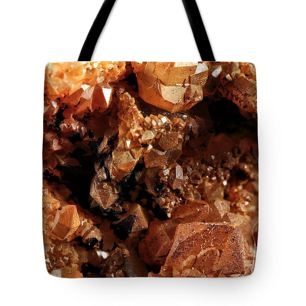 Fluorite Tote Bag featuring the photograph Fluorite I by John Rizzuto