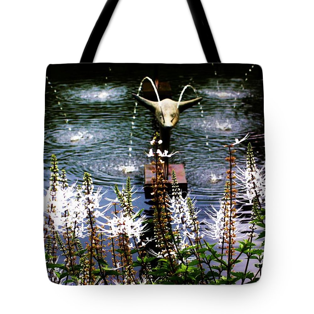 Flying Tote Bag featuring the photograph Flying Dolphins by Chuck Hicks