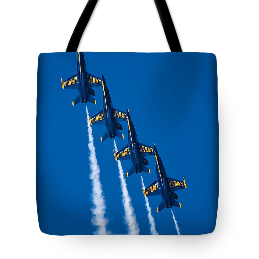 3scape Photos Tote Bag featuring the photograph Flying High by Adam Romanowicz