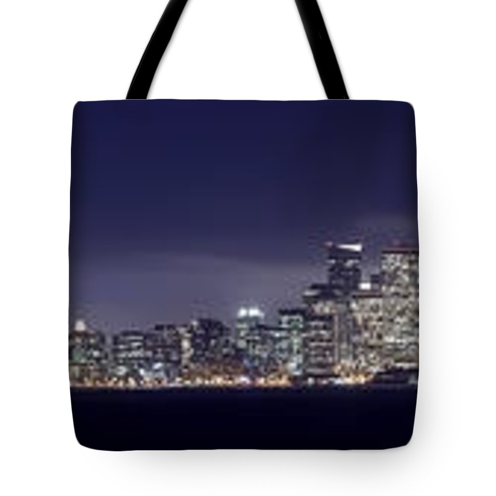 Fog City Tote Bag featuring the photograph Fog City San Francisco2 by Mike Reid