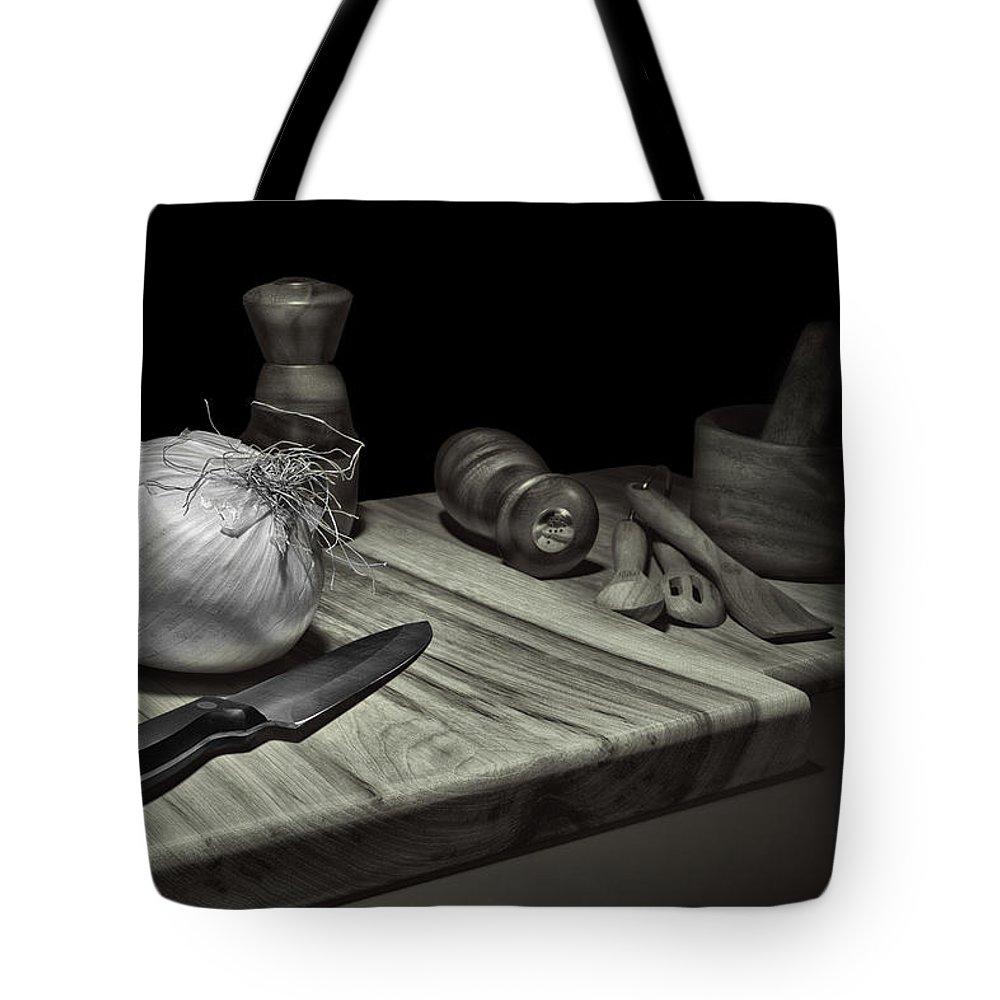 Menu Photographs Tote Bags
