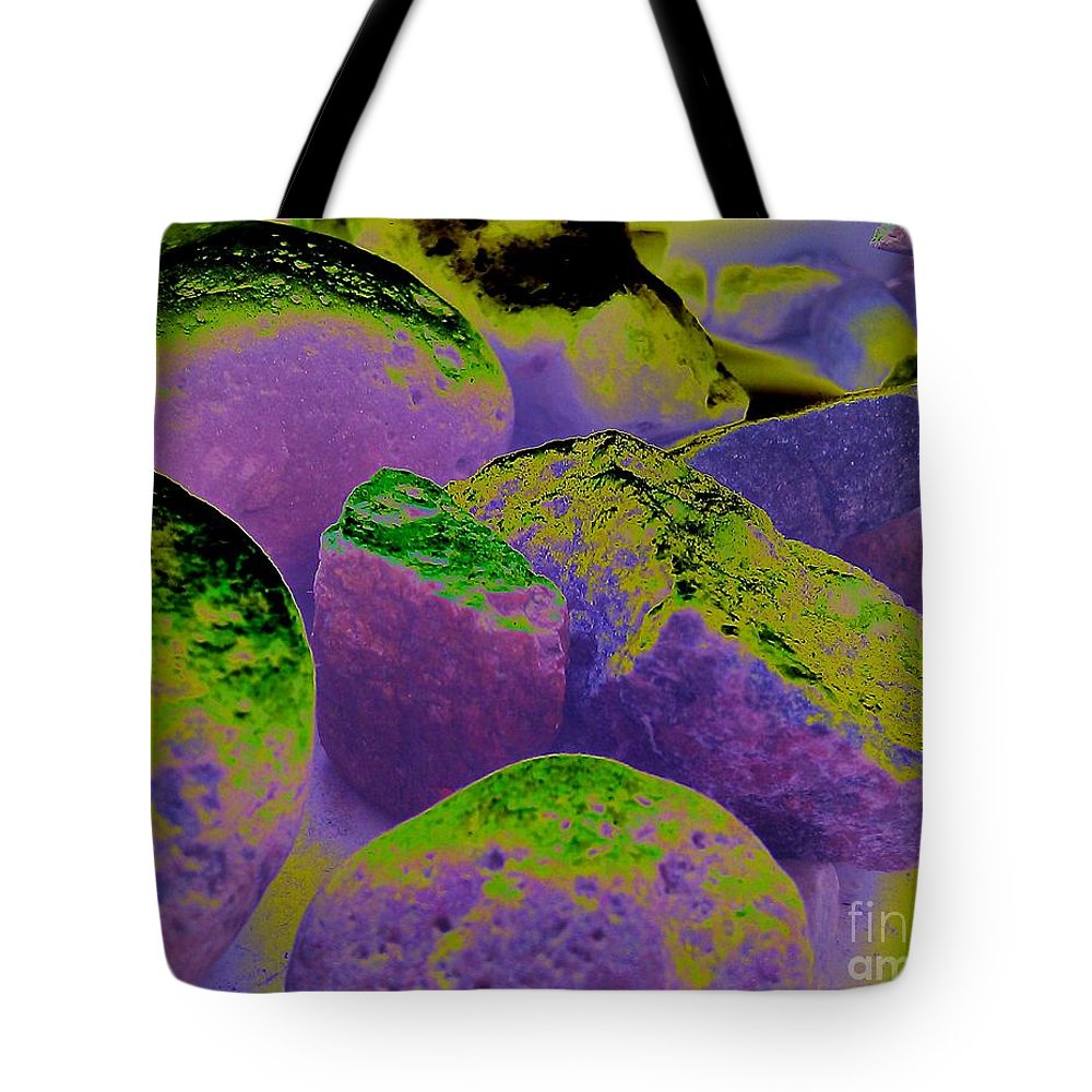 Stones Tote Bag featuring the photograph Fool's Gold by Martin Howard