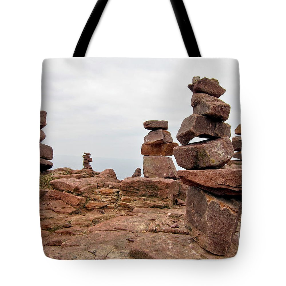 Rocks Tote Bag featuring the photograph For The Druids by Olivier Le Queinec