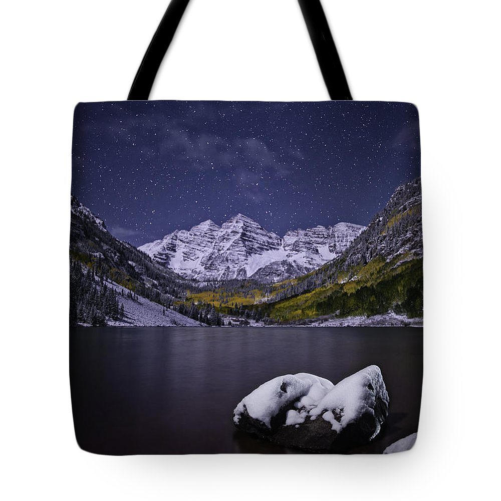 Ashcroft Tote Bag featuring the photograph For Whom The Bells Toll by Jon Blake