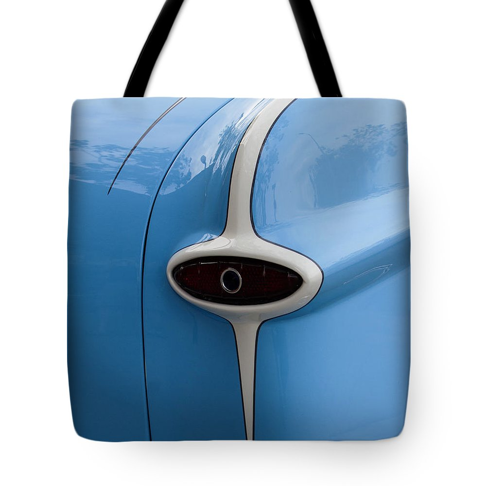 Hot Rod Tote Bag featuring the photograph Ford by Guy Shultz