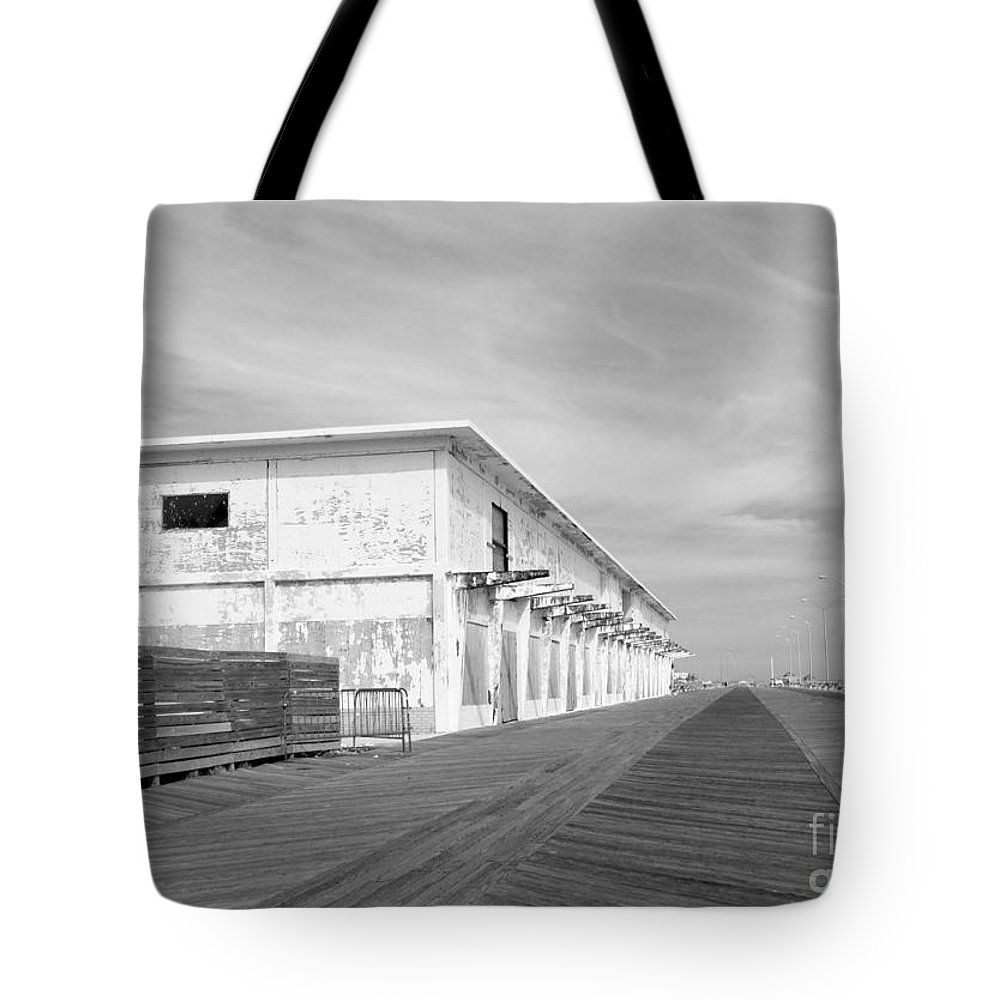 Boardwalk Tote Bag featuring the photograph Forgotten by Mary Haber