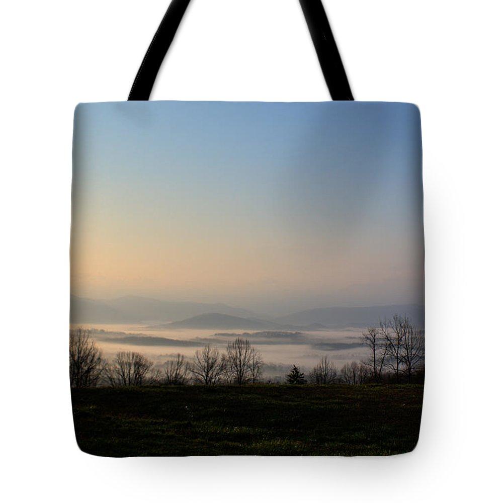 Forlorn Tote Bag featuring the photograph Forlorn Sunrise by Douglas Barnett