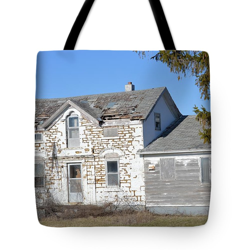 White Tote Bag featuring the photograph Forlornness by Bonfire Photography