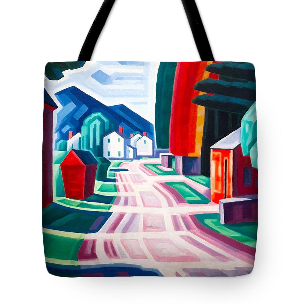 Oscar Florianus Bluemner Tote Bag featuring the digital art Form And Light by Oscar Bluemner