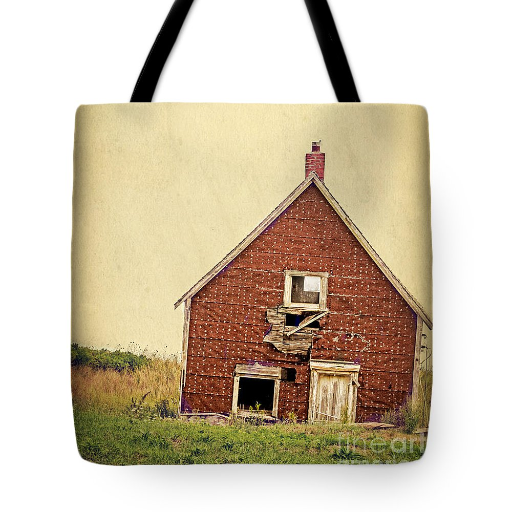Abandoned Tote Bag featuring the photograph Forsaken Dreams by Edward Fielding