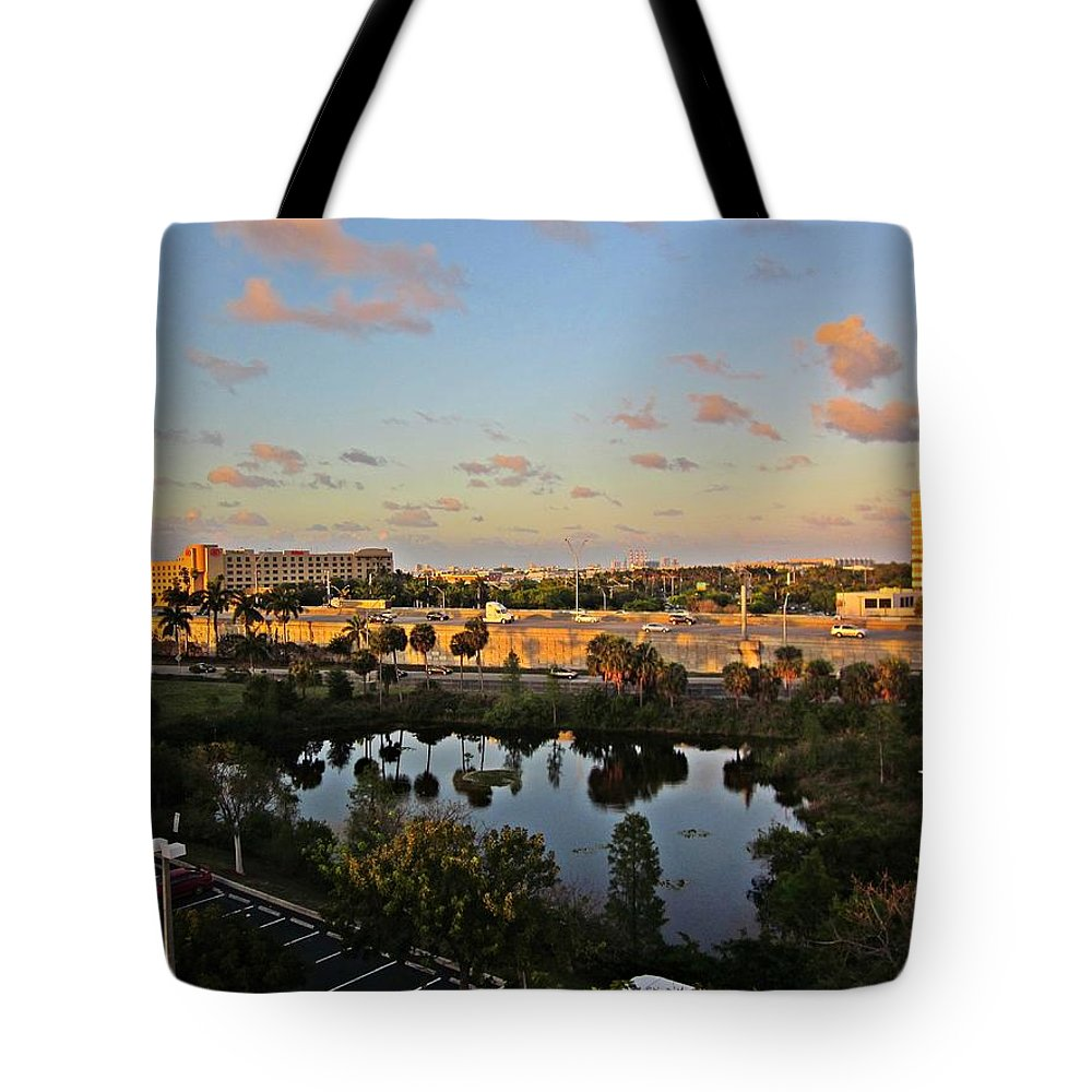 Fort Lauderdale Florida Tote Bag featuring the photograph Fort Lauderdale View by MTBobbins Photography