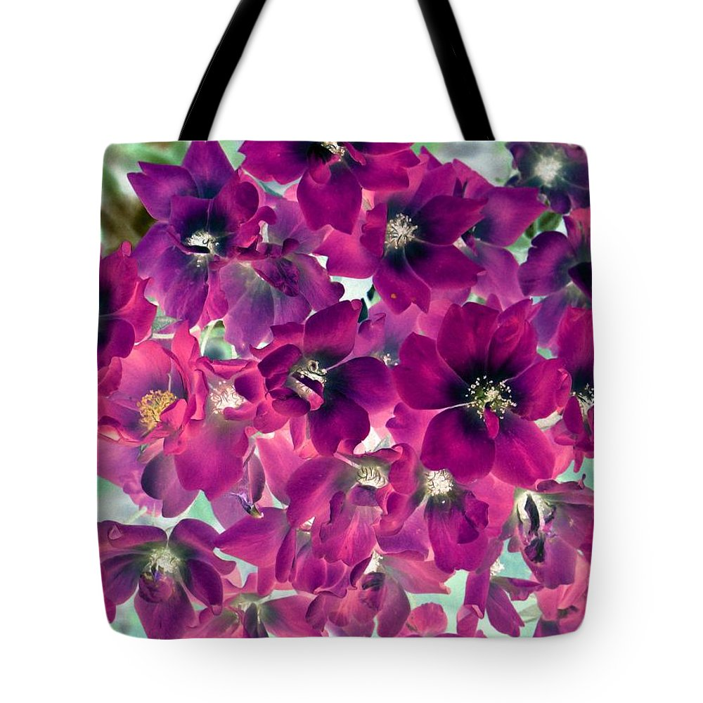Flower Tote Bag featuring the photograph Found Rose - Photopower 1742 by Pamela Critchlow