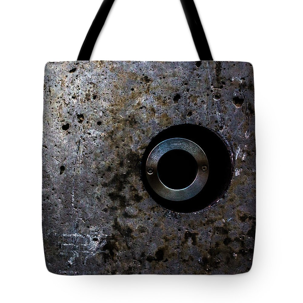 Foundation Tote Bag featuring the photograph Foundation Number Seventeen Spy by Bob Orsillo