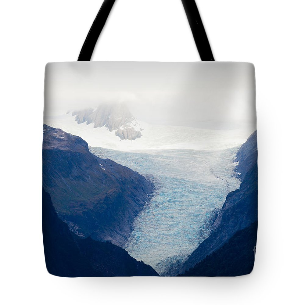 South Island Tote Bag featuring the photograph Fox Glacier On South Island Of New Zealand by Stephan Pietzko