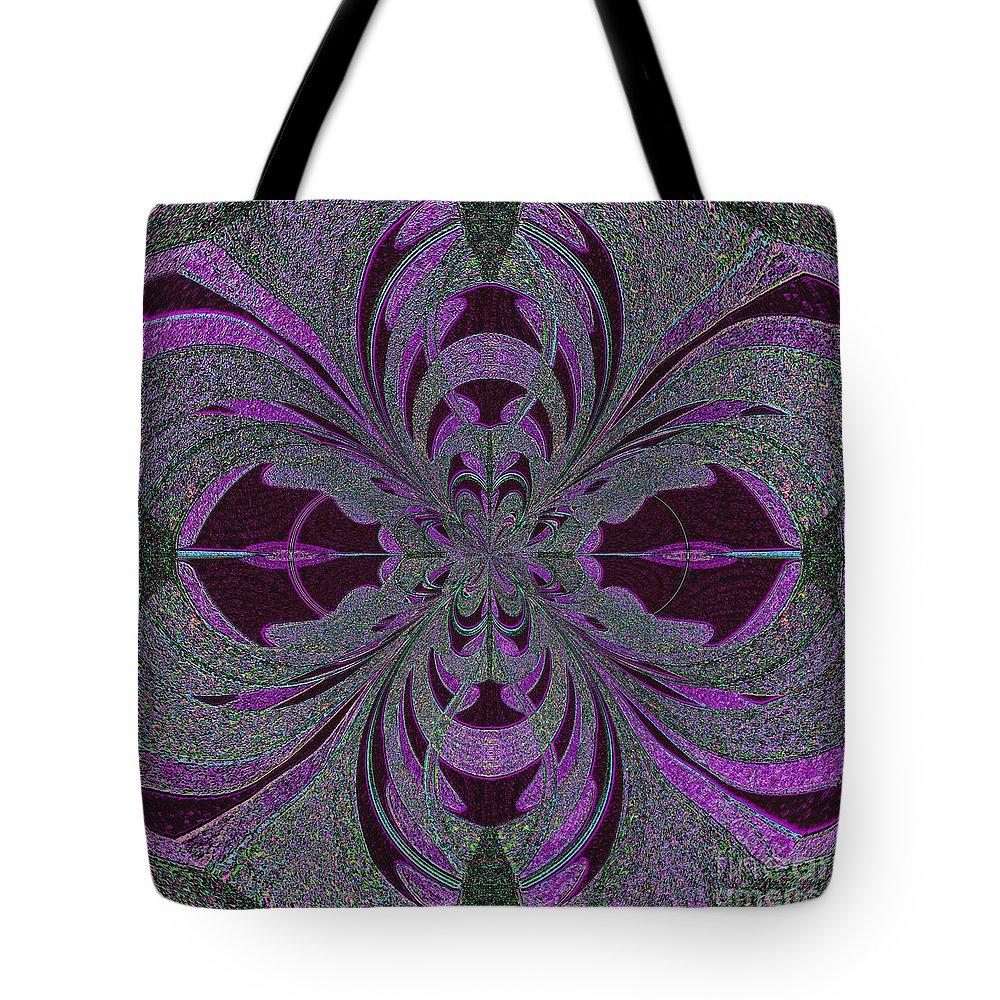Design Tote Bag featuring the mixed media Fracmandoxocco by Mando Xocco