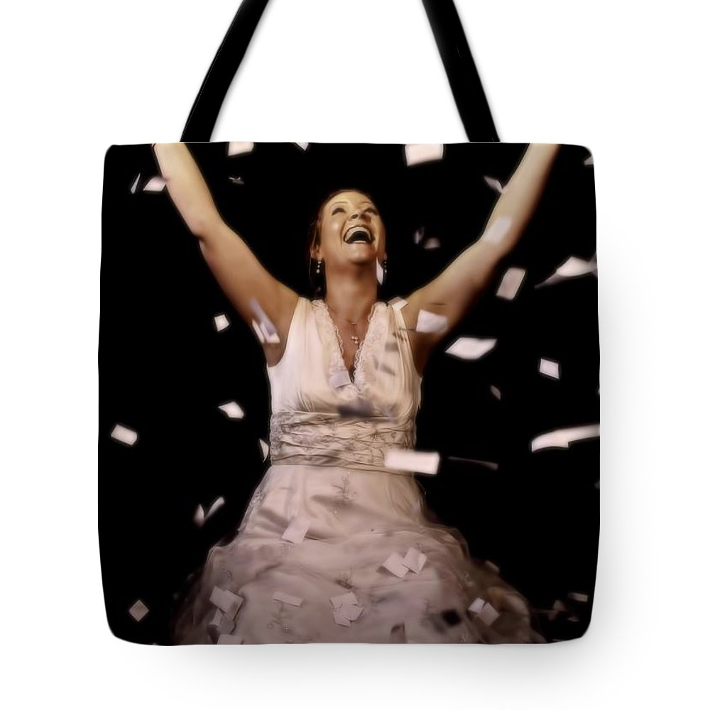 Woman Tote Bag featuring the photograph Free by Amanda Stadther