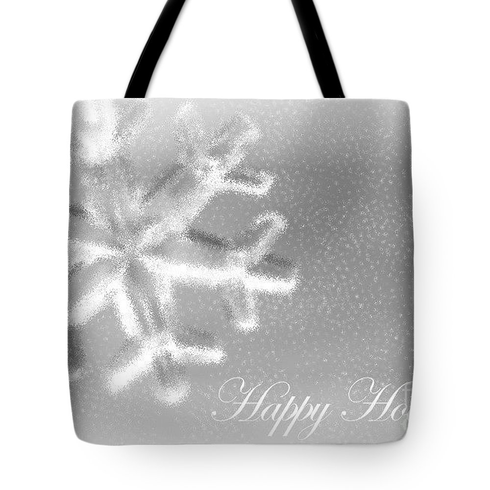 Snowflake Tote Bag featuring the photograph Free Falling by Living Color Photography Lorraine Lynch