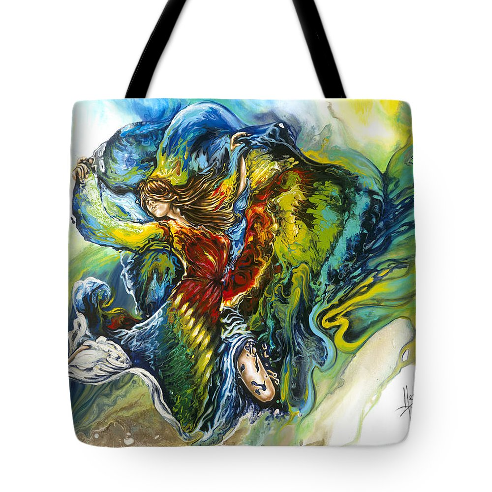 Freedom Tote Bag featuring the painting Freedom by Karina Llergo