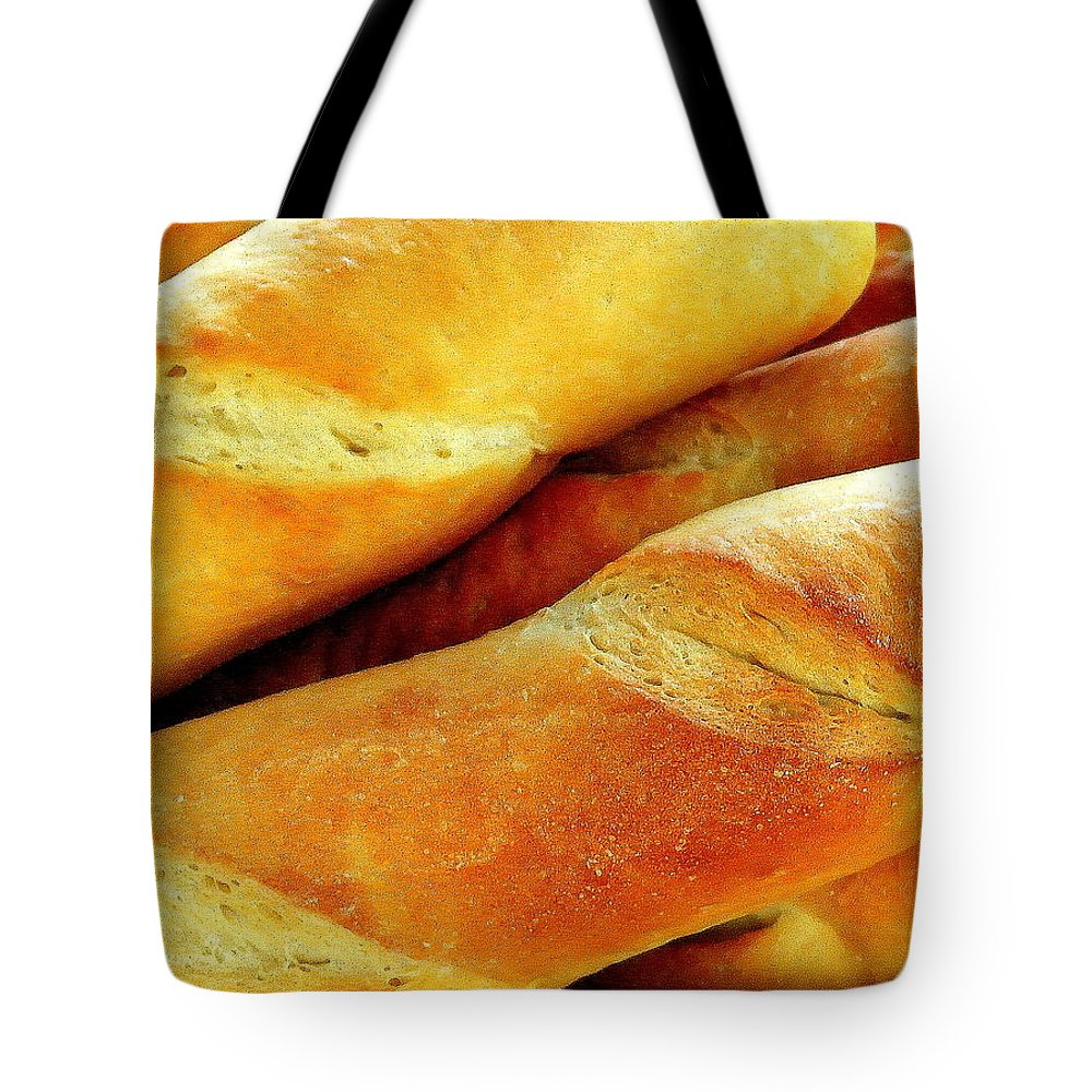 Farm Tote Bag featuring the photograph French Bread by Jim Harris