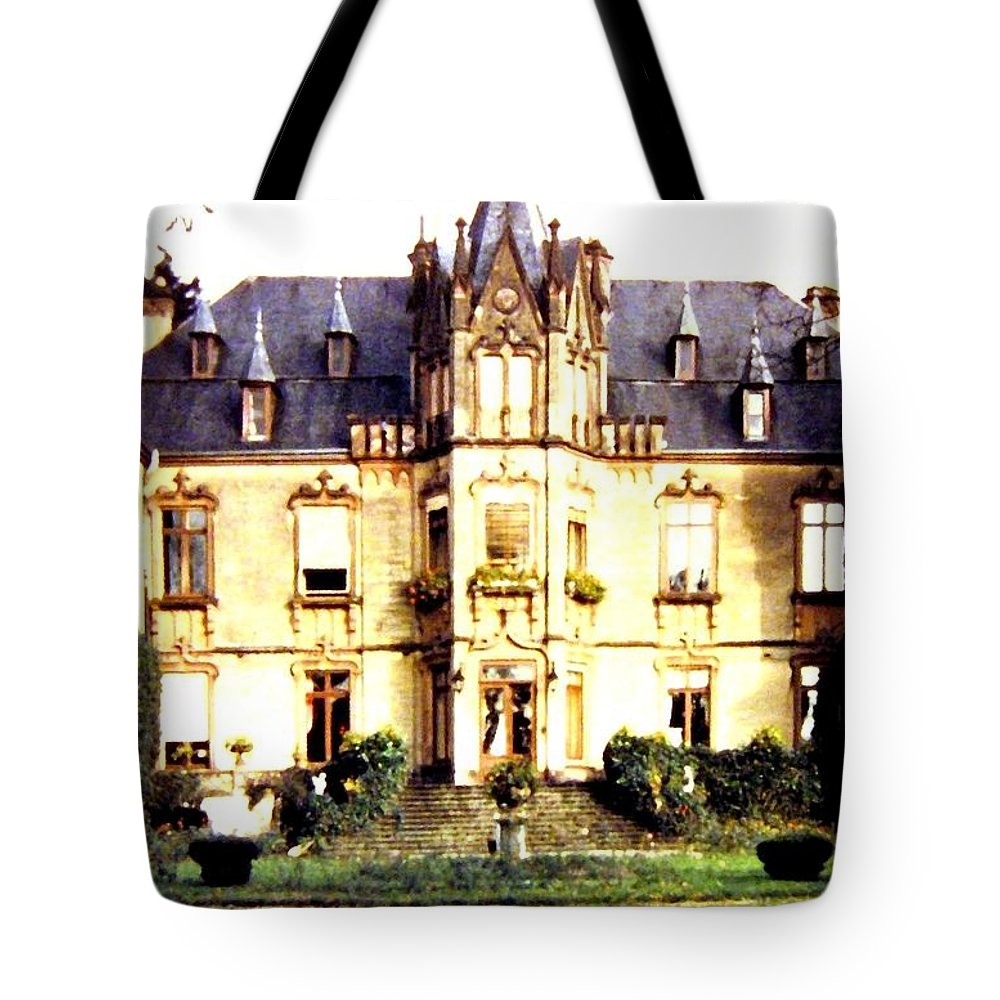 French Chateau 1955 Tote Bag featuring the photograph French Chateau 1955 by Will Borden