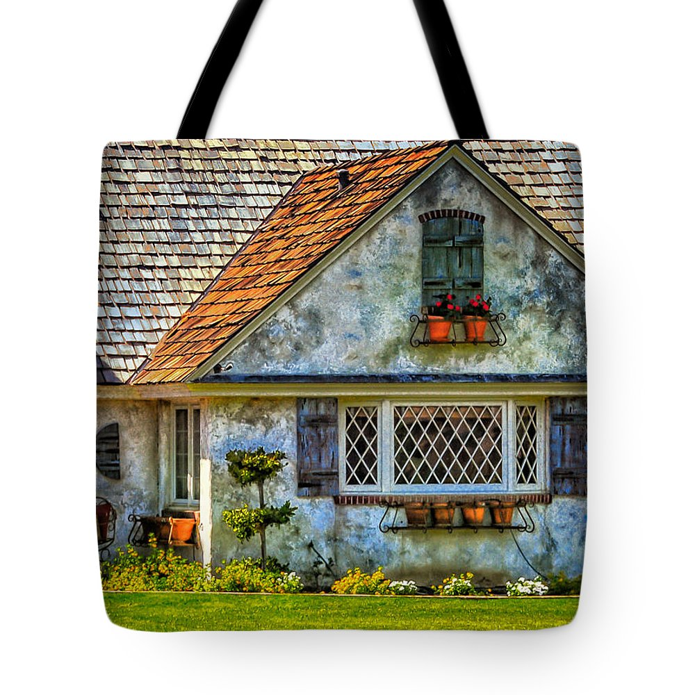 French Countryside Tote Bag featuring the photograph French Countryside In The Desert by Diane Wood