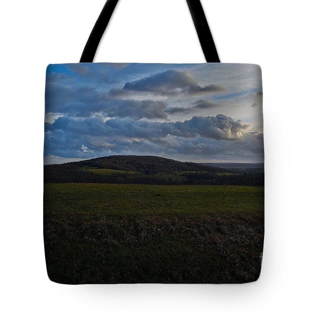Hills Tote Bag featuring the photograph French Hills by Brothers Beerens