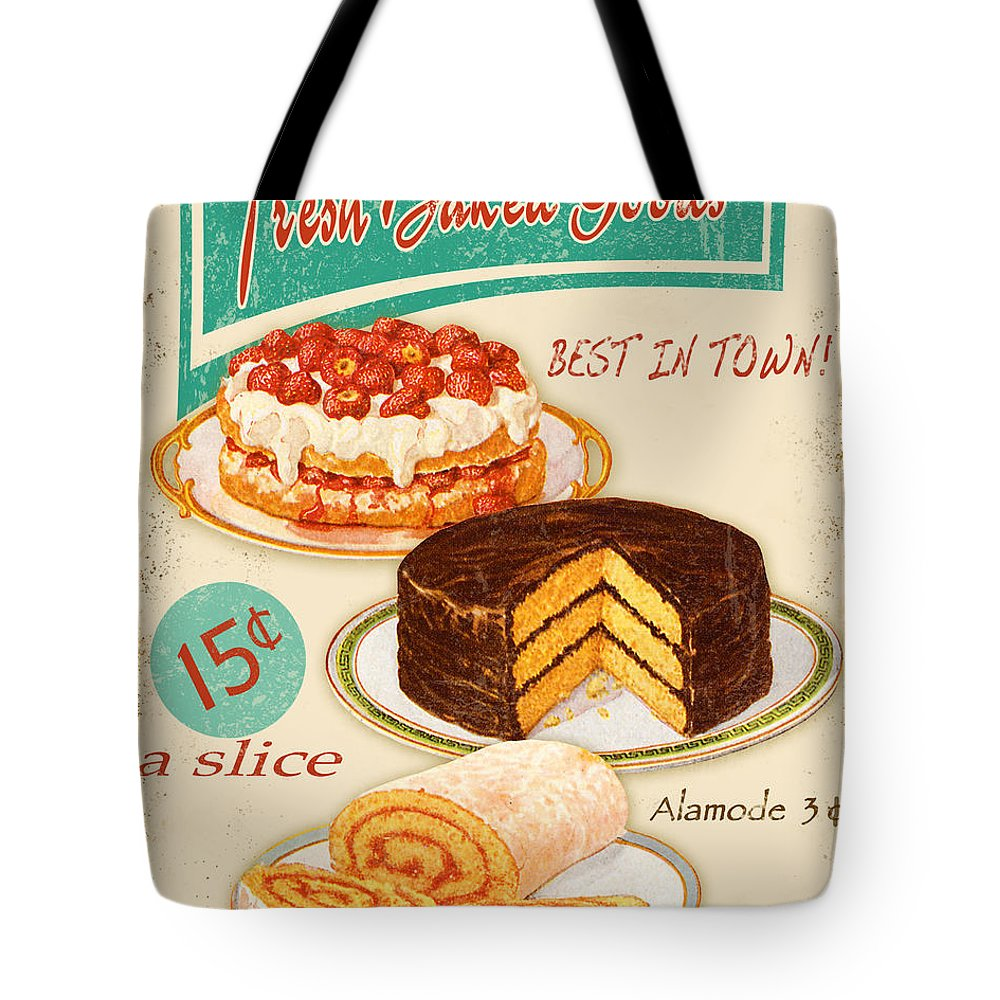 Fashion Plate Digital Art Tote Bags