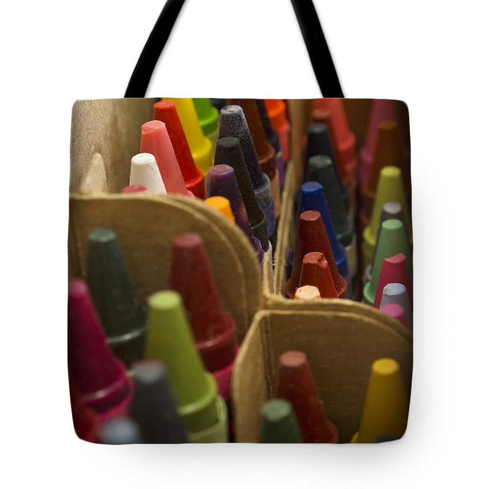 Crayon Tote Bag featuring the photograph Fresh Box First Choice by Mark McKinney