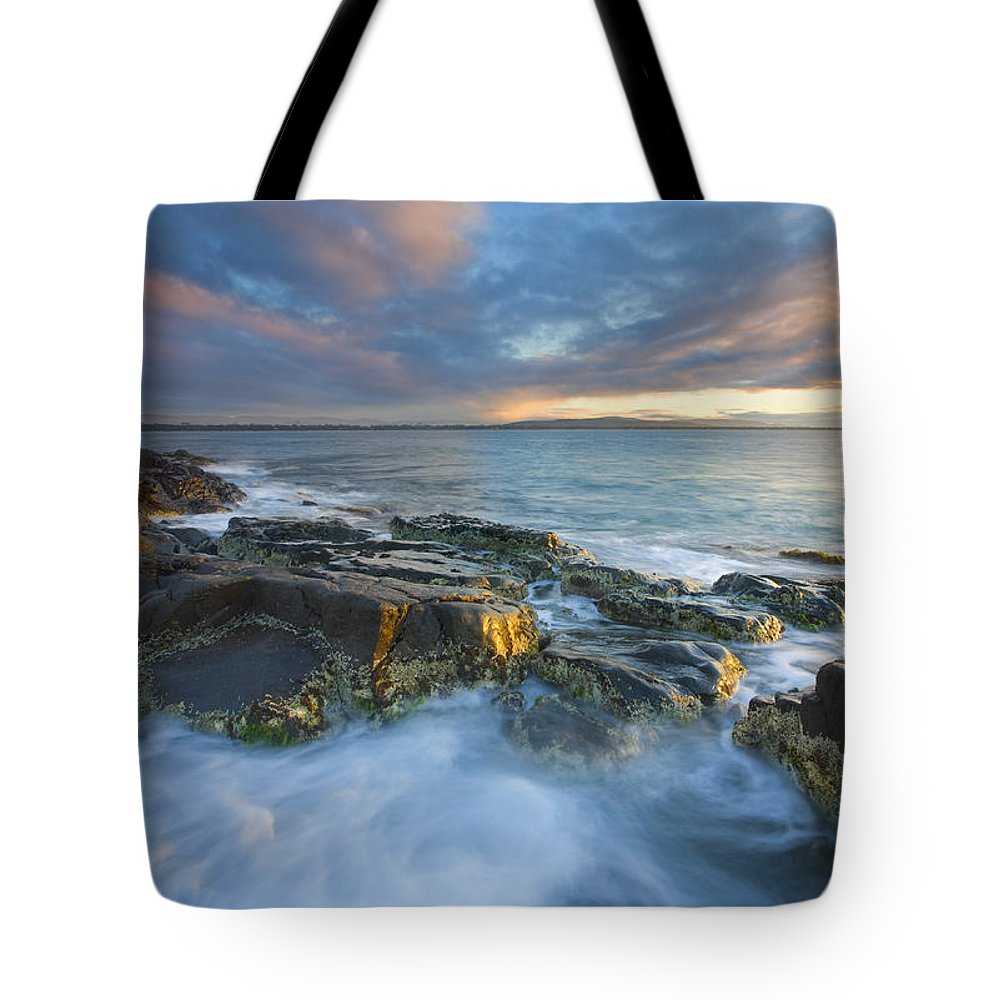 Freycinet Tote Bag featuring the photograph Freycinet Cloud Explosion by Mike Dawson